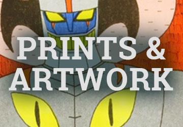 PRINTS & ARTWORK