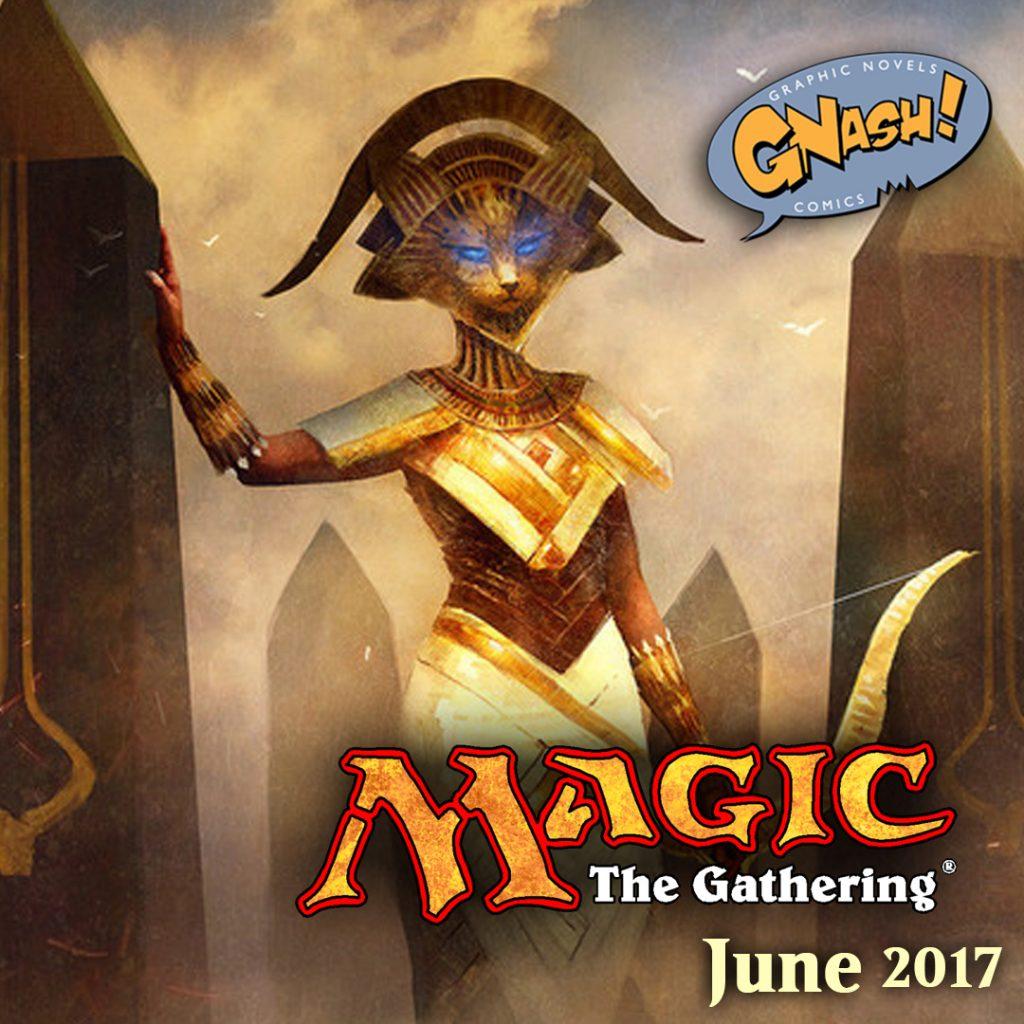 Magic the Gathering June 2017 Gnash Comics
