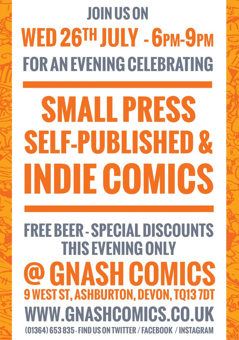 Indy + Small Press Promotion Poster
