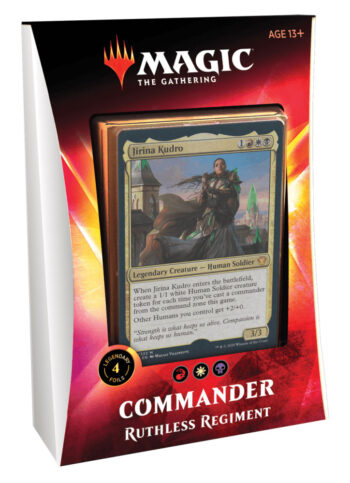 Ikoria Magic Commander 2020: 'Ruthless Regiment'