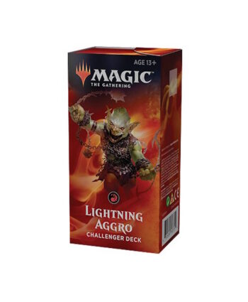 Lightning Aggro Challenger Deck for Magic the Gathering