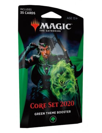 'Core Set 2020' Green Theme Booster for Magic the Gathering