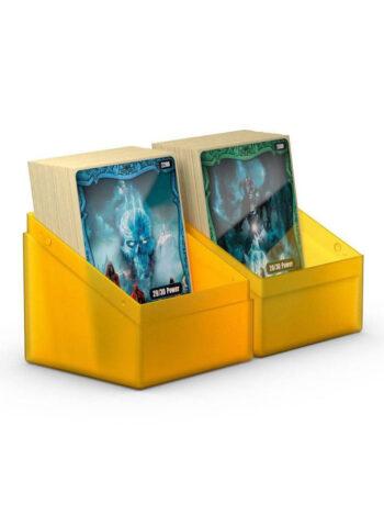 mtg card deck box case 100 120 cards cog tag