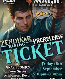 MtG Cards Zendikar Rising PreRelease Pack Eventful Magic the Gathering