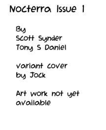 Jock variant cover